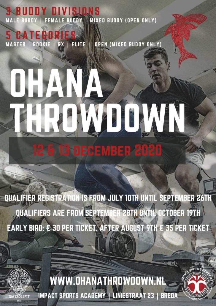 Poster Ohana Throwdown 2020